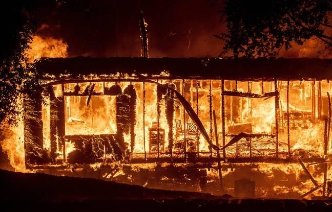 Californie: Un violent incendie ravage la région viticole de Sonoma