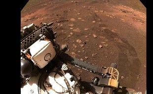 Perseverance s'est enfin déplacé sur Mars.