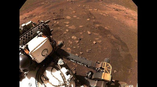 Perseverance sur Mars : Le rover a parcouru ses premiers mètres - 20minutes.fr