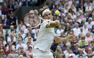 Le Suisse Roger Federer, le 4 juillet 2012, à Wimbledon.