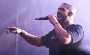 Le rappeur Drake en concert à Austin (Texas) le 19 mars 2016.