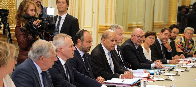 Image d'illustration du conseil des ministres.