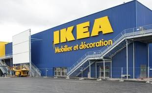 Un magasin Ikea en France.