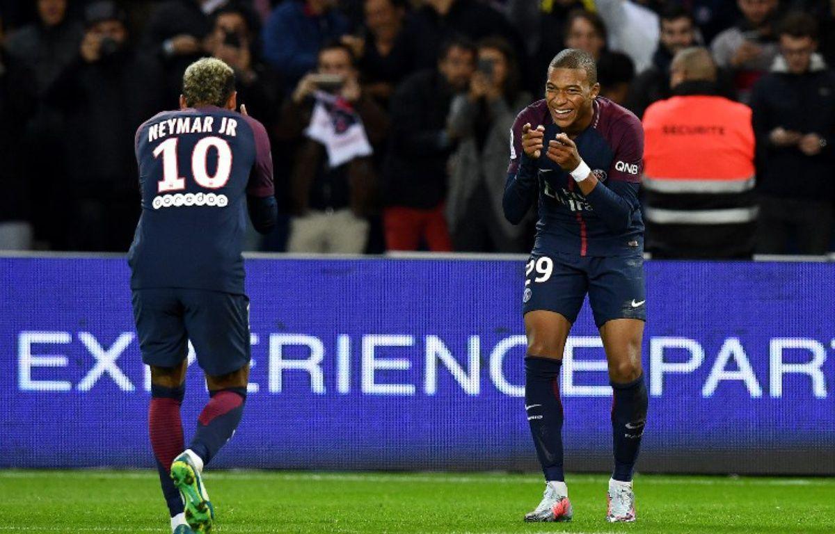 Le PSG s'est arraché pour battre Lyon (2-0), le 17 septembre 2017 au Parc des Princes.  – FRANCK FIFE / AFP