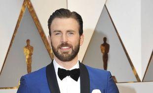 L'acteur Chris Evans aux Oscars