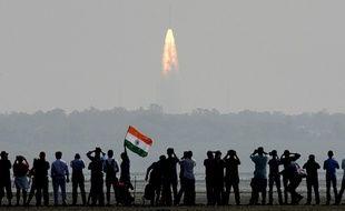 L'Inde a mis en orbite ce mercredi un nombre record de 104 satellites avec une seule fusée.