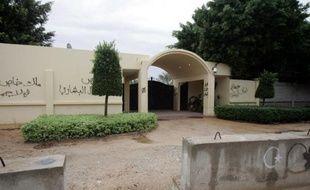 Vue en date du 2 novembre 2012 du consulat américain à Benghazi