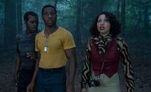 Courtney B. Vance, Jonathan Majors et Jurnee Smollett-Bell dans la série « Lovecraft Country ».