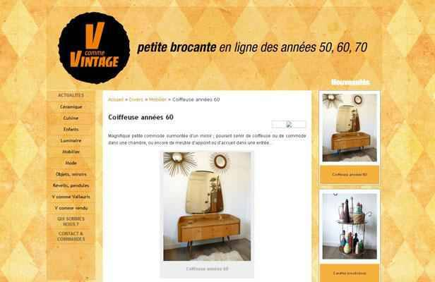 vintage en ligne les vieilles affaires font les bonnes affaires. Black Bedroom Furniture Sets. Home Design Ideas