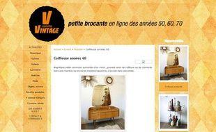 Des objets vintage en ligne pour relooker votre salon (ici, V comme Vintage)