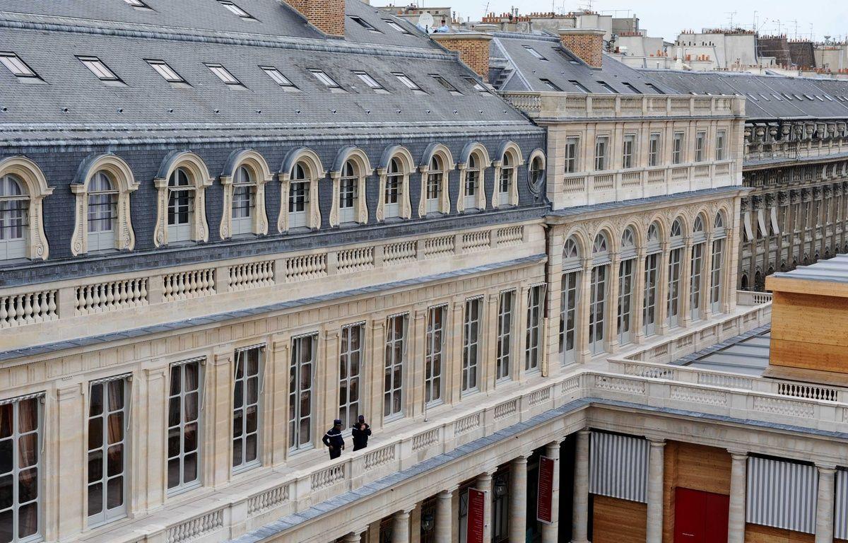 Le Conseil constitutionnel à Paris. –  DURAND FLORENCE/SIPA
