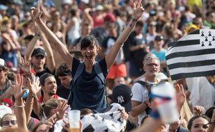 Le festival des Vieilles Charrues a attiré 270.000 spectateurs.
