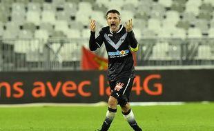 Jérémy Toulalan a peut-être joué son dernier match sous le maillot des Girondins contre Caen, mardi.