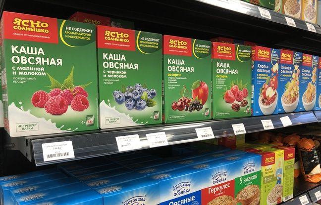 Des produits alimentaires venus de Russie