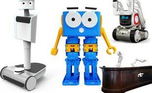 Marty (Microdrone), Immersive robotic, Cozmo (Anki), RobotBAR (Realtime Robotics)
