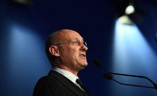Bernard Laporte à Marcoussis le 3 décembre 2016.