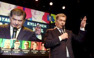 Le président finlandais sortant, Sauli Niinistö, a été réélu dès le premier tour