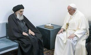 La rencontre entre le pape François et le grand ayatollah chiite Ali Sistani