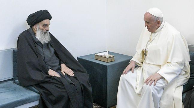 Les deux papes réunis