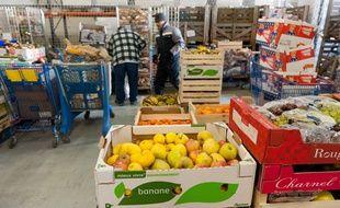 Bordeaux, 8 février 2012. - Illustration de la Banque alimentaire - Photo : Sebastien Ortola