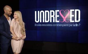 Xavier et Tatiana-Laurence Delarue coprésentent l'émission de drague «Undressed» sur NRJ 12.