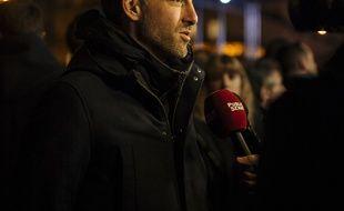 Raphael Glucksmann, fondateur du parti Place publique, photographié en février 2019 à Paris.