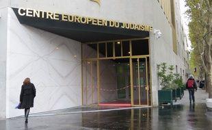 Le Centre européen du judaïsme situé place de Jérusalem (17e)