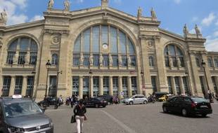 La gare du Nord (Illustration).