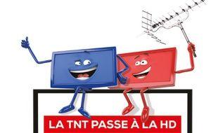 La bascule à la TNT HD se fera le 5 avril.