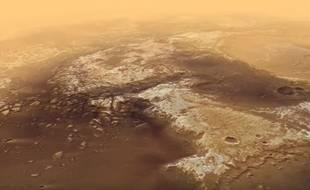 L'Agence spatiale européenne (ASE), qui a récemment survolé la surface de Mars avec sa sonde Mars Express, a partagé le 8 décembre 2016 une séquence de deux minutes époustouflante.