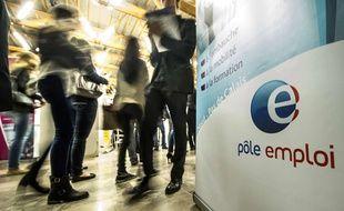 Photo d'archives du 30 septembre 2014 d'une agence Pôle Emploi à Villeneuve-d'Ascq.