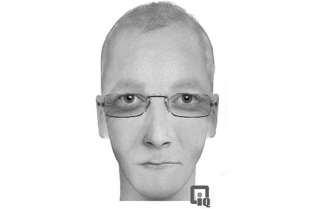 Portrait-robot de l'homme suspecté d'avoir violé une auto-stoppeuse dans le Finistère.