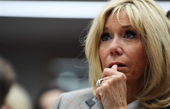Marseille: Un sac-poubelle lancé vers Brigitte Macron lors de sa visite dans les quartiers Nord