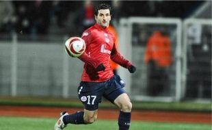 L'attaquant lillois Pierre-Alain Frau regrette que son équipe n'ait pas «fait le trou».