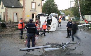 La collision entre un TER et un camion avait fait trois morts et 61 blessés le 12 octobre 2011 à Saint-Médard-sur-Ille près de Rennes.