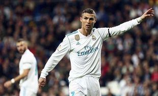 Ronaldo lors de Real Madrid-Las Palmas, le 5 novembre 2017.