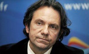 Frédéric Lefebvre, porte-parole de l'UMP, le 14 décembre 2009.