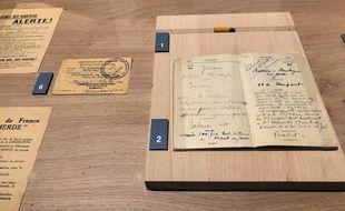 Le carnet et le crayon que le résistant François Verdier avait sur lui au moment de son exécution sont désormais exposés au Musée départemental de la Résistance et de la Déportation de la Haute-Garonne.