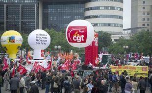Manifestation devant le ministère des Finances le 31 mai 2011