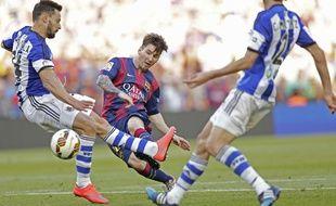 Lionel Messi lors de Barcelone-Real Sociedad le 9 mai 2015.