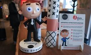 Dix robots Tommy ont été installés à Strasbourg. L'association Vision Strasbourg voudrait en placer cent de plus dans la ville d'ici la rentrée 2019.