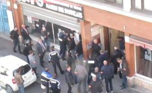 Image extraite de la vidéo publiée par la CNT Lille