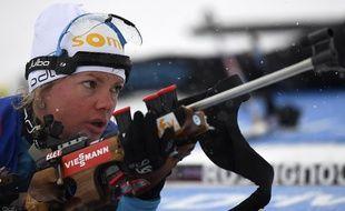 C'est la dernière chance de décrocher une médaille en individuel pour Marie Dorin-Habert