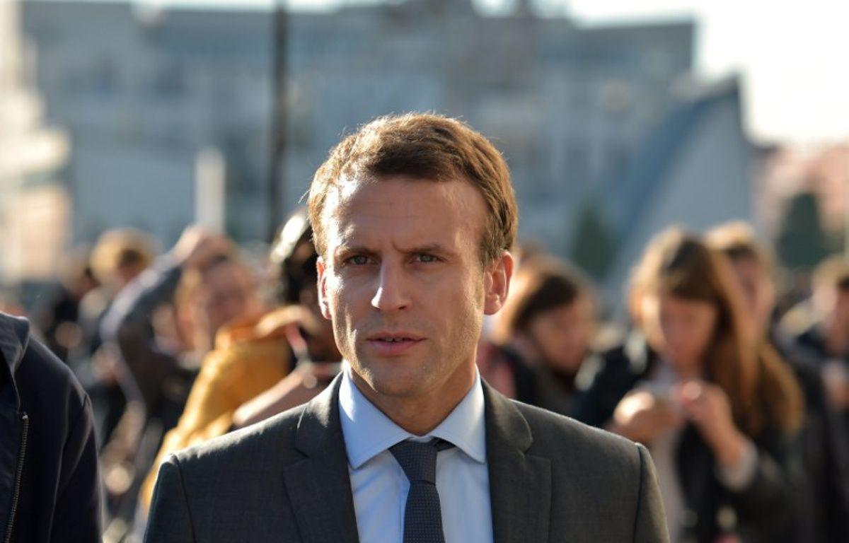 Le discours d'Emmanuel Macron à Strasbourg a fait réagir à droite comme à gauche – PATRICK HERTZOG / AFP