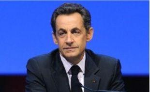 Nicolas Sarkozy, au Congrès des maires.
