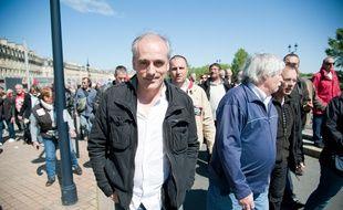 Philippe Poutou à Bordeaux. Archives.
