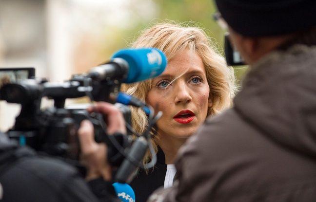 Marie Grimaud, avocate de l'association Innocence en danger, le 16 novembre 2016, à Riom.