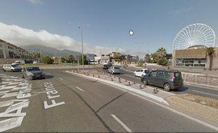 Le quartier où a eu lieu l'arrestation à Marseille.