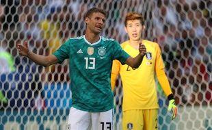 Thomas Muller est déçu...
