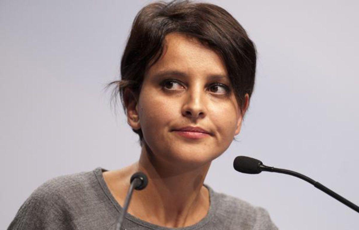 La ministre des Droits des femmes et porte-parole du gouvernement Najat Vallaud-Belkacem, le 5 octobre 2013. –  MEUNIER AURELIEN/SIPA